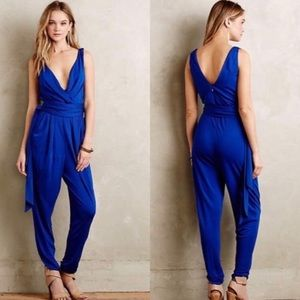 Anthropologie Elevenses Asherah Jumpsuit LP
